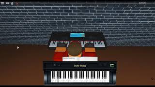 Here to Stay - Bleach by: Shiro Sagisu on a ROBLOX piano. [MistressPianist Arrangement]