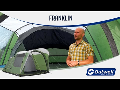 Outwell Franklin 3 & 5 - Poled Camping Tents (2020) | Innovative Family Camping