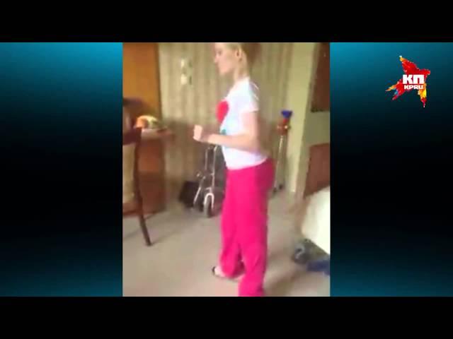 Девочка, попросившая тренажёр у Путина, начала ходить