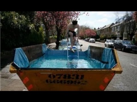 Como hacer una piscina artesanal youtube for Como gunitar una piscina