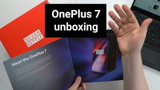 Pakojam vaļā jauno OnePlus 7 (unboxing video)