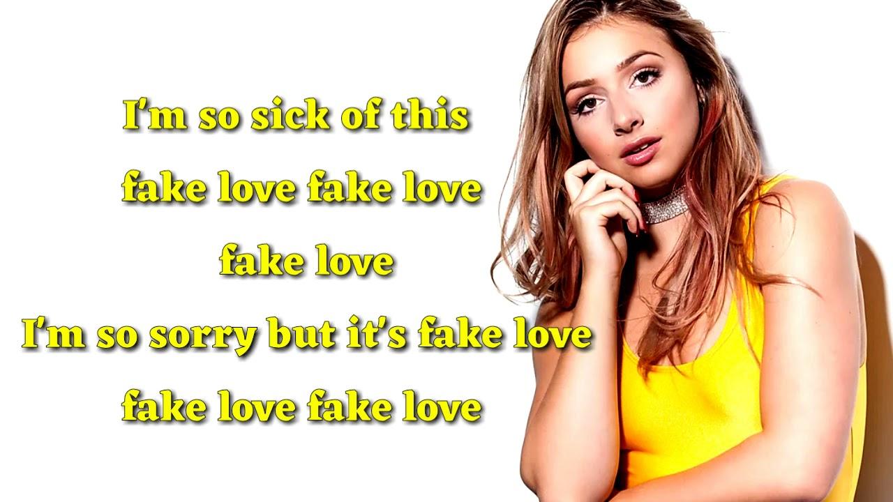 Fake Love Korean Cover Song Bts Bts English Version