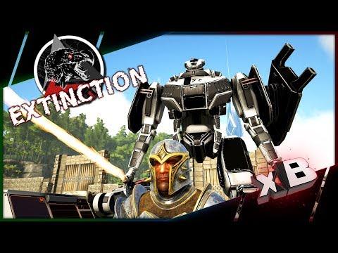Futurism AXS Mech Suit!:: Modded ARK: Extinction | Parados :: E07