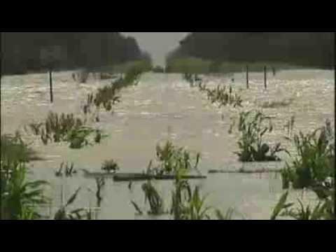 Dramatic footage of the Queensland floods