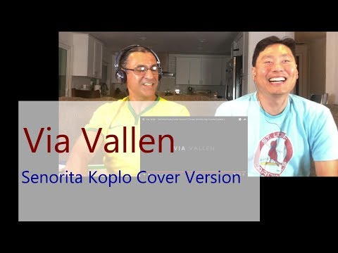Reaction - VIA VALLEN - Senorita Koplo Cover Version ( Shawn Mendes feat Camila Cabello )