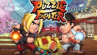 Puzzle Fighter by Capcom (iOS/Android) gameplay
