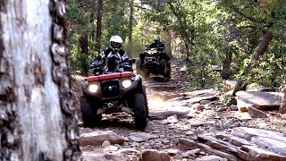 Fisher's ATV World - Riding Tonto National Forest in AZ (FULL)
