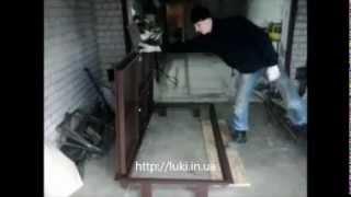 Стальной люк в пол 88х190 см(Большой напольный люк, ревизионный лючок на кухне, люк сантехнический ревизионный, люк ревизионный под..., 2012-11-21T07:31:47.000Z)