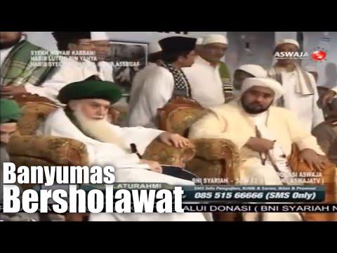 Syekh Hisyam Kabbani, Habib Luthfi dan Habib Syech bin Abdul Qodir Assegaf - Banyumas Bersholawat