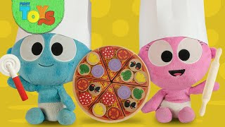 Cooking Pizza🍕with Kitchen Toys for Children   GooGoo  Gaga Pretend Play Vegetables Pizza Toppings