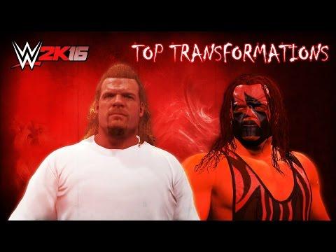 WWE 2K16 Top Transformations Vol 1