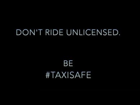 Be #TaxiSafe when catching a cab (A Collyers College Production)
