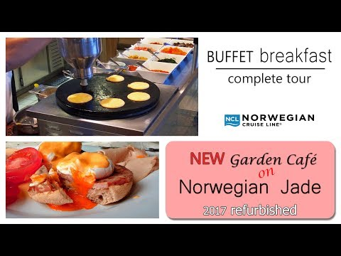norwegian-jade-refurbished-|-breakfast-buffet-in-garden-café-|-complete-tour.-dji-osmo+