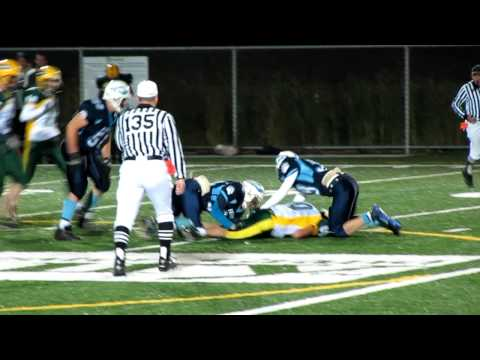 Fifteen year old causes fumble in varsity football