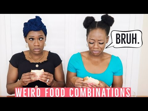 Identical TWINS Eat | WEIRD And BIZARRE FOOD Combinations People Love