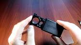 Видеообзор лупы и ножа для бумаг в футляре «Эркюль Пуаро» - YouTube