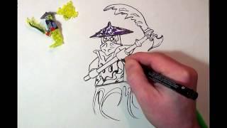 How to Draw Ninjago #GHOLTAR# LEGO