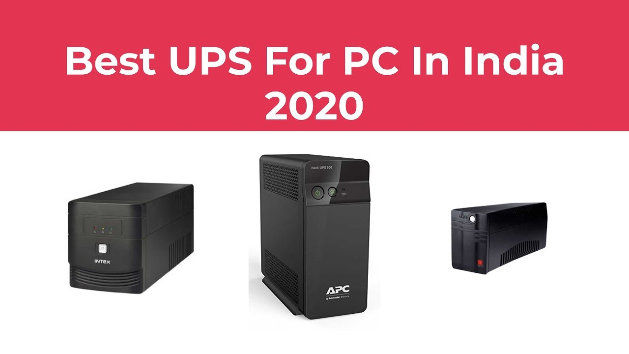 Best Ups For Pc In India 2020 Youtube