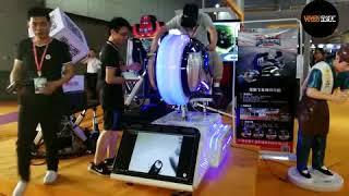 Popular VRway VR MOTORCYCLE virtual reality motorbike racing simulator arcade games machine in IAAPA