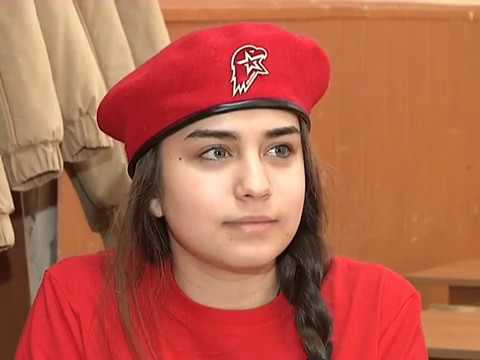 Комната юнармейца открылась в школе №8 в городе Самара