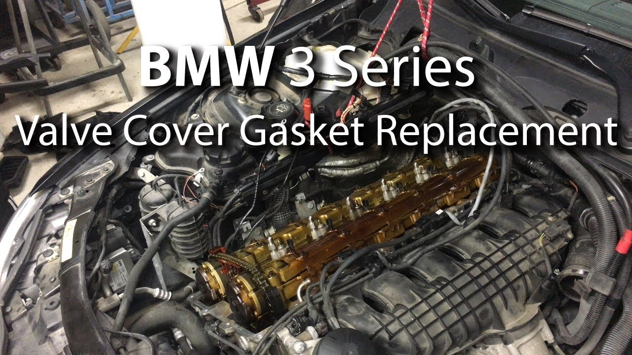 Bmw Valve Cover Gasket Replacement Diy Step By Step