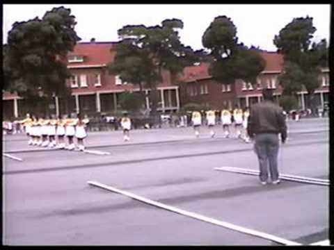 Lincoln High School (SF) JROTC Girls Drill Team 91st Comp 1988