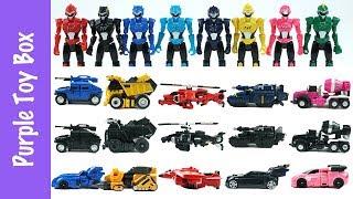 미니특공대 장난감 총모음 미니특공대X 슈퍼공룡파워 Mini Force Transformer Toys Collection