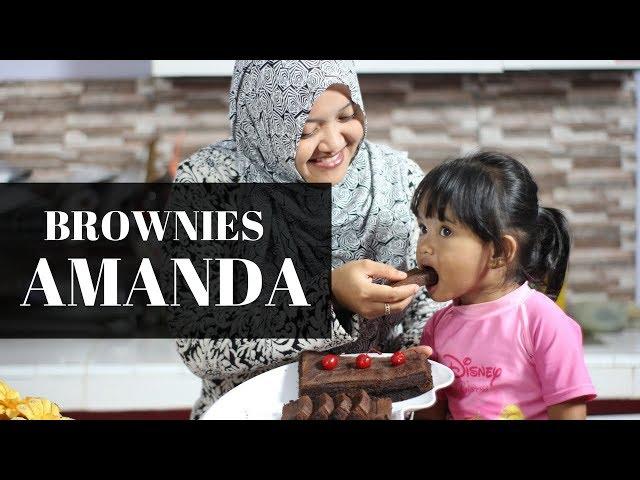Resep Cara Membuat Brownies Amanda Lezat Dan Enak