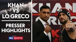 Amir Khan vs Phil Lo Greco | Press Conference Highlights