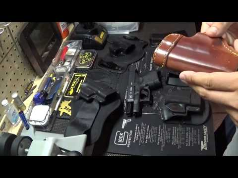 Holster options for the Glock 26