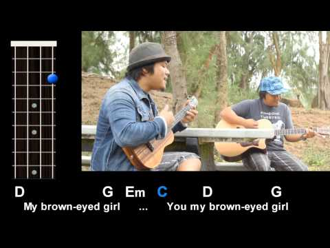 "Ukulele ukulele tabs van morrison : Brown Eyed Girl"" (Van Morrison) Ukulele Play-Along! - YouTube"