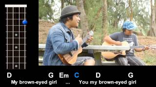 """Brown Eyed Girl"" (Van Morrison) Ukulele Play-Along!"