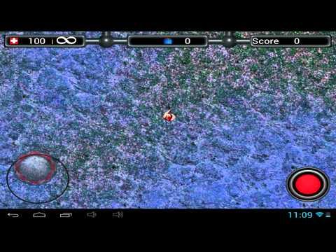 Santa Rockstar vs Aliens - Android gameplay