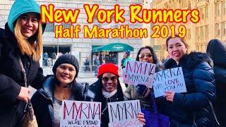 NEW YORK ROAD RUNNERS HALF MARATHON 2019❤️CONGRATULATIONS MYRNA❤️❤️❤️
