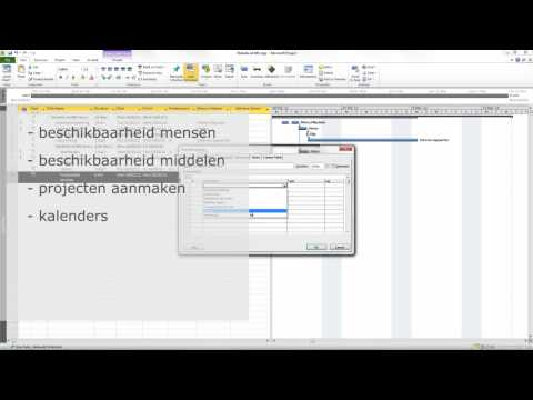 Executive Computer Training - Cursus Microsoft Project