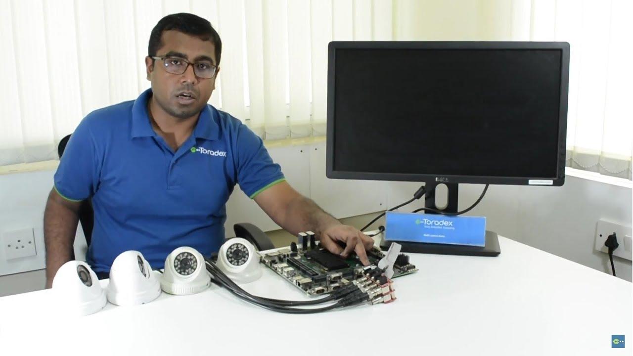 Toradex Demo: Multi-camera Setup - Apalis iMX6 System on Module