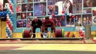 Дмитрий Клоков и Рашид Ицаев, становая 310 кг на 10 раз!