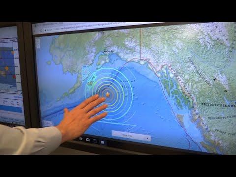Alaska Escapes Damage After Magnitude-7.9 Quake