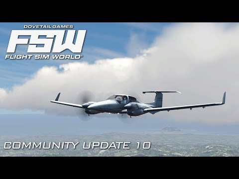 Flight Sim World | Community Update 10 Review - Spiral Approach In St Lucia! | Early Access