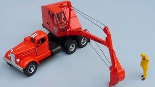 SpecCast Schield Bantam Excavators by Cranes Etc TV