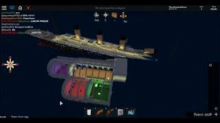 Roblox Titanic 2.0 full sinking (2012 sinking)