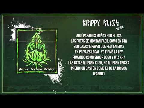 Krippy Kush (Remix) (LETRA) Farruko, Nicki Minaj, Bad Bunny ft. 21 Savage, Rvssian