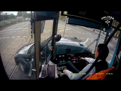 Tram crash compilation