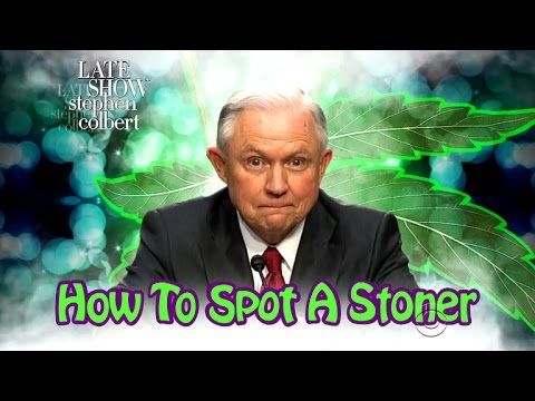 Jeff Sessions Stars In 'How To Spot A Stoner'