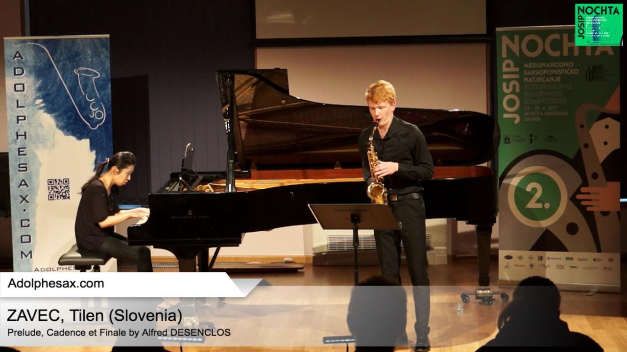 Prelude, Cadence et Finale (Alfred Desenclos) – ZAVEC, TIlen (Slovenia)
