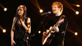 "Ed Sheeran and Christina Grimmie: ""All of the Stars"" (The Voice Highlight):Re"