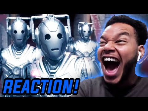 """THEY'RE BACK!?! Doctor Who Season 7 Episode 12 """"Nightmare In Silver"""" REACTION!"""