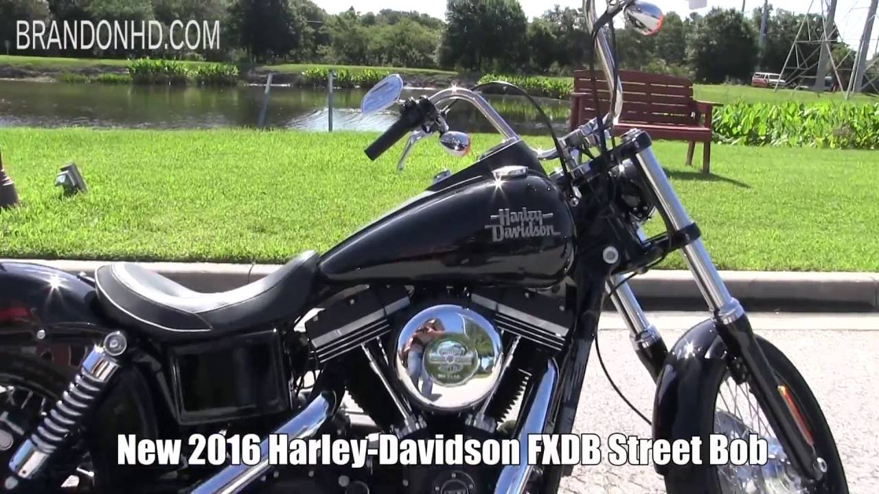 2016 harley davidson street bob for sale florida 2019 coming soon youtube. Black Bedroom Furniture Sets. Home Design Ideas