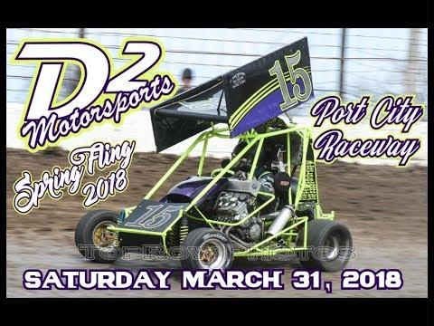 D2 Motorsports - Port City Raceway Spring Fling 2018 - Saturday Night