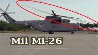 Russia's Mil Mi-26 Takeoff As A Fighter Jet.